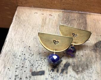 Modern Geometric  Stud Earrings