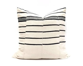 """Mudcloth pillow cover, 20"""" mudcloth blanket pillow, African pillow, mudcloth"""