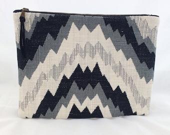 Gift for her, Zipper clutch, zippered clutch, Black Clutch Purse, Clutch Bag, Clutch wallet, bags and purses, boho fashion, zipper pouch