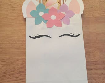 Unicorn Favor Bags- ELECTRONIC VERSION ONLY