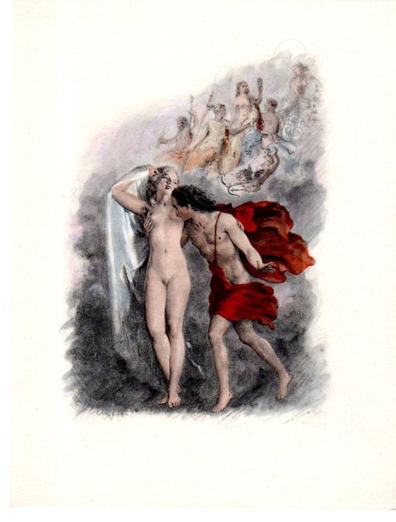 Boy Kissing A Girl Breast