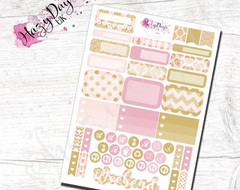 Blush - Functional Planner Stickers for Horizontal, Vertical ECLP, BuJo, TN, Kikki.K Filofax, Happy Planner etc