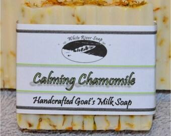 Goats Milk Handmade Soap: Calming Chamomile