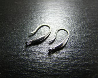 1 pair of 925 sterling silver hooks