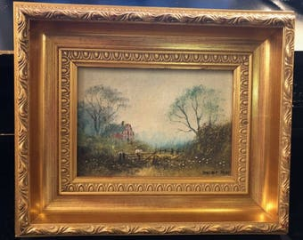 Small Original Painting by Digby Page