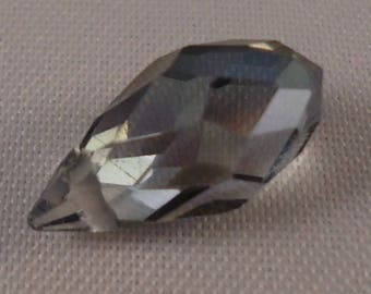 Gray Pearl drops 6 * 12 mm