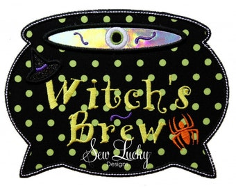 Witch's Brew Embroidered Patch