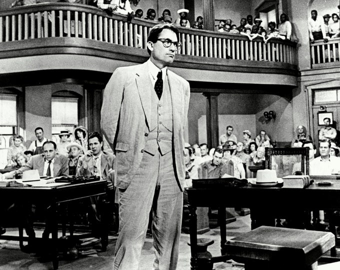 """Gregory Peck in the Film """"To Kill a Mockingbird"""" - 5X7, 8X10 or 11X14 Publicity Photo (BB-776)"""