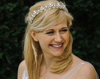Swarovski crystal and diamante tiara