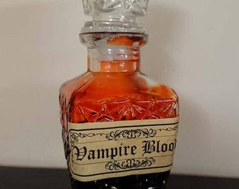 A decanter of vampire blood