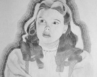 "portrait drawing 20"" x 24"""