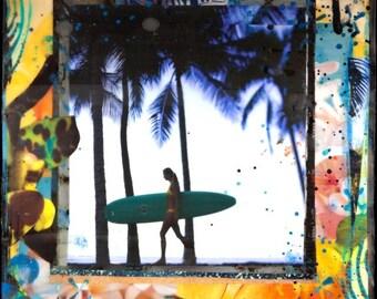 CITRUS, Best Seller, 8x10, 11x14, 16x20, Matted Print Signed by the Artist, Hawaii, Hawaiian Art, Surf Art, Beach, Palm Trees