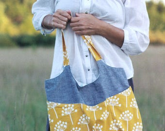 GO ANYWHERE BAG Sewing Quilt Pattern By Noodlehead 538