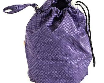 GoKnit Sapphire Amethyst Small Project Bag