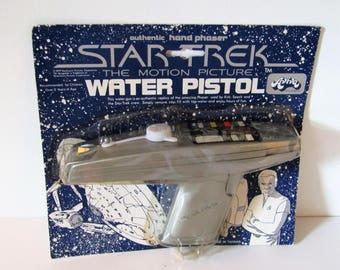 Star Trek The Motion Picture Original Phaser Water Pistol Squirt Gun