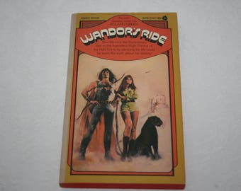 Vintage Paperback Book, Wandor's Ride, by Roland Green, Sci Fi, Fantasy, 1973