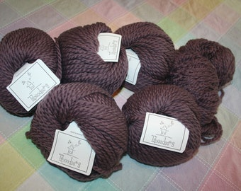100% Wool Yarn Tiboodoos Made In France Taupe Color