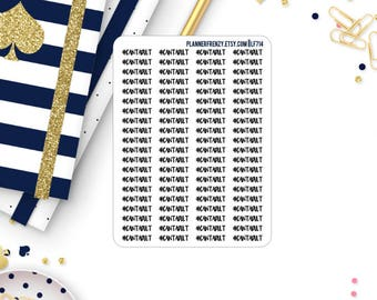 """80 """"Can't Adult"""" Planner Stickers! LF714"""