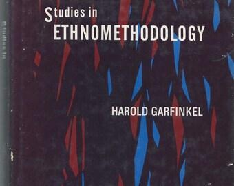 Studies in Ethnomethodology by Harold Garfinkel