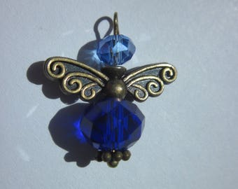charm glass bead and bronze 2.4 cm (18)