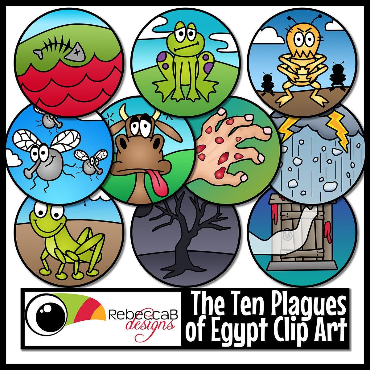 Diez plagas de Egipto Clip Art (Moisés), diez plagas Clip descarga ...