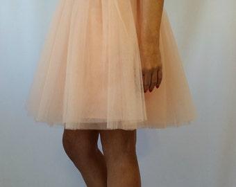 """Women Tulle Skirt / Knee length Tutu Skirt / Princess Skirt / Wedding Skirt – """"Choose to be me"""" / EXPRESS SHIPPING"""