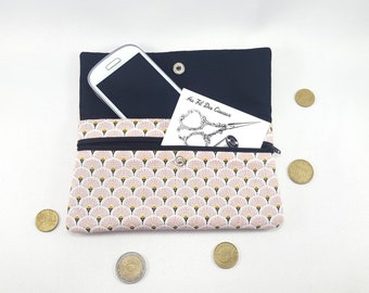 Phone pouch / / phone case / / padded pouch / / pouch / / pink clutch - range
