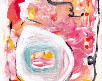 Playfulness looks good on you, 8.5 x 11 Fine Art Print, Self-Love, Self-Compassion