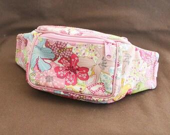 Kids waist bag  LIBERTY of London Mauvey (Pink)