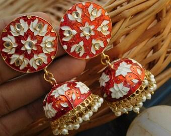 Meenakari Earrings