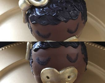 Baby Chocolate Candy Apple