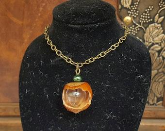 Hazelnut hazelnuts chain necklace