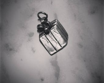 Sterling Silver Gift Present Christmas Charm