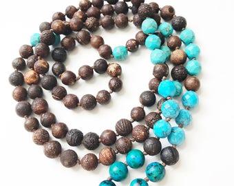 The POWERFUL mala, meditation mala, prayer mala, 108 bead necklace