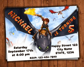 How To Train Your Dragon Invitation, How To Train Your Dragon Birthday, How To Train Your Dragon Invites, How To Train Your Dragon Party