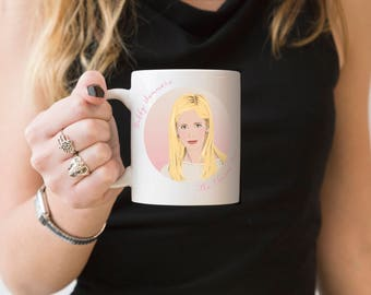 Females Are Strong As Hell Mug - Buffy, Vampire Slayer, Geek Mug, Fandom Mug, Gift for Geeks, Bad-Ass Females Collection, Gifts for Fans