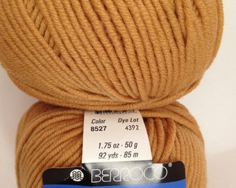 Berroco Pure Merino Yarn, Color-Resin #8527, Fiber-extra fine merino wool, worsted weight