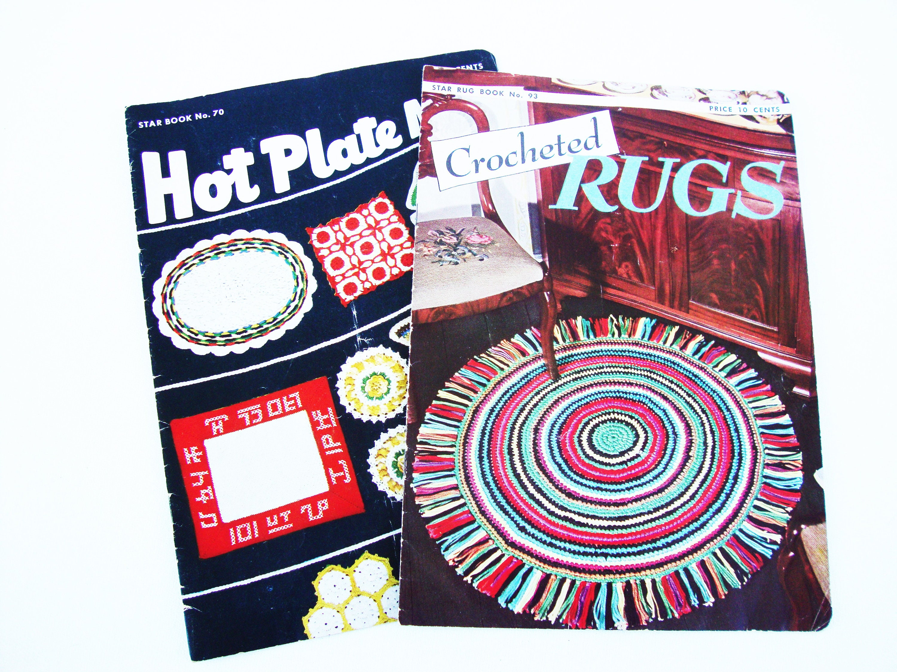 vintage crochet patterns and projects booklets retro 1950 crocheted ...