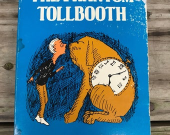 The Phantom Tollbooth by Norton Juster Illustrations by Jules Feiffer 1960s Paperback