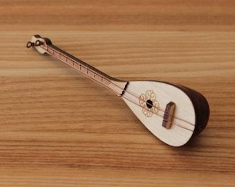Dombra - miniature musical instrument - present - Christmas tree decoration