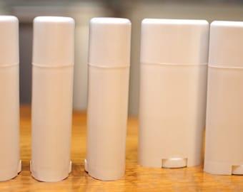 1600 Bulk 2.5 oz Empty Deodorant Container Empty Tube- Deodorant Containers-  Empty Deodorant Tubes- Twist Up Tube- Empty Lotion Container