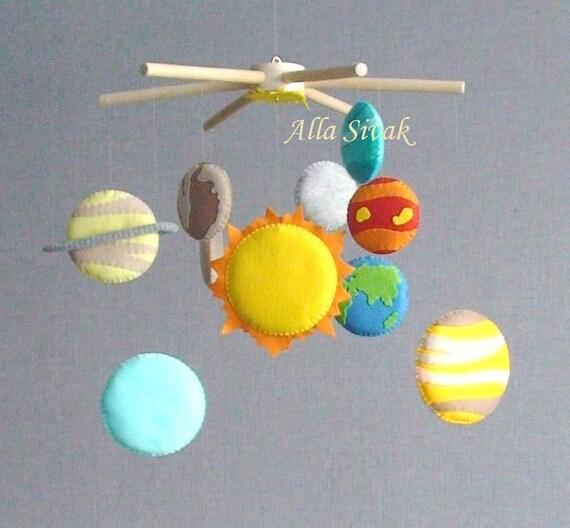 Planetas Sistema Solar móvil bebé móvil móvil de Sistema
