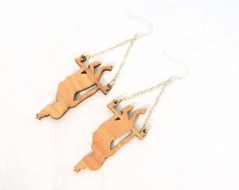 Trapeze Girl Earrings