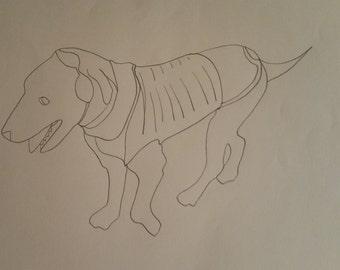 Personalised Labrador Pattern 3