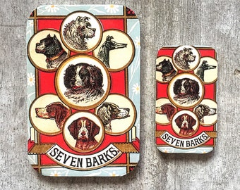 Dog tin SMALL,  Notions tin
