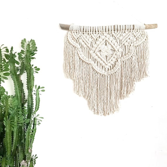 "Macrame Wall Hanging ""Odyssey""  READY TO SEND"
