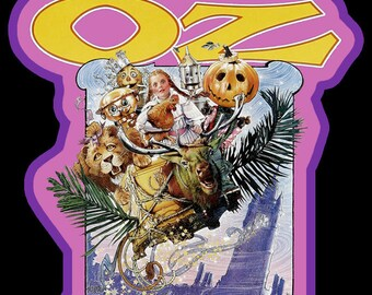 Return to Oz Vintage Cartoon Image T-shirt