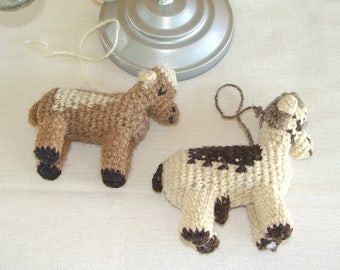 Hand Crafted Sheep Decoration Ornaments for Christmas