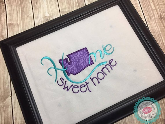 Washington Home Sweet Home Machine Embroidery Applique Design on home trim design, home kitchen design, home gardening design, home size, home button design, home fashion design, home wallpaper design, home garden design, home print design, home quilt design, home art design, home paint design, home pillow design, home inspiration design, home furniture design, home cross stitch design, home drawing design, home sewing, home painting design, home decorating design,