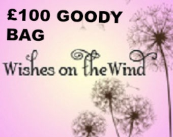 Wishes on the Wind 100 Gift Bag Of Goodies, Mystery Bag of Jewelry